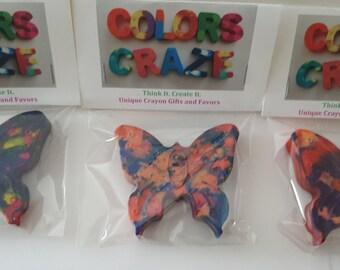 Jumbo Butterfly Crayons