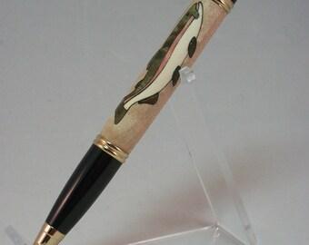 Rainbow Trout Inlay Pen