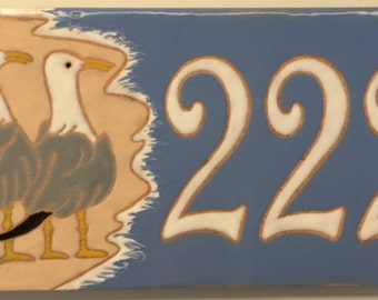 Seagull address tile