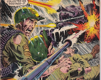 Our Army At War #141 - April 1964 Issue - DC Comics - Grade G