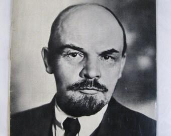 Soviet Union Magazine Special Edition on VLADIMIR ILYICH LENIN 1870-1970