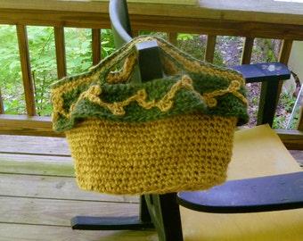 Purse/Handbag - Crochet Jute