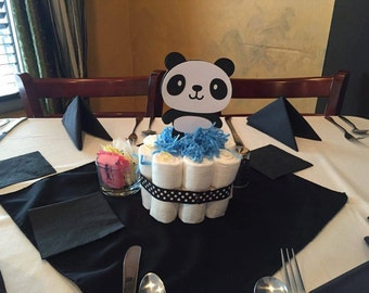 Panda Party   Panda Bear Centerpiece Stakes (5)   Panda Baby Shower    Centerpieces