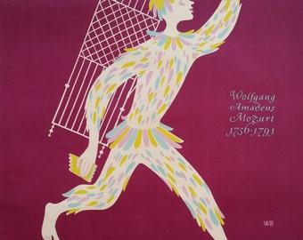1956 Vienna Music Festival - Original Vintage Poster