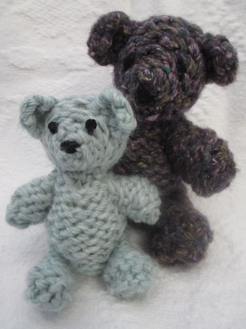 Knitted TINY Bear Pattern PDF Pattern by TwoSistersTeddyBear