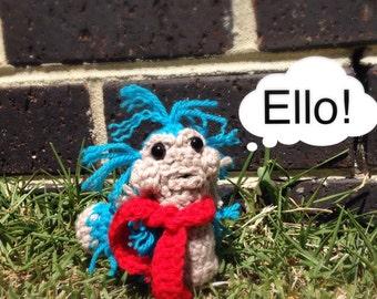 Crochet Labyrinth worm/Mr. Worm