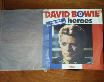David Bowie 'heroes' Chante en Francais (sung in french)