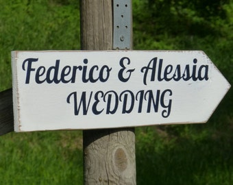custom made wedding sign