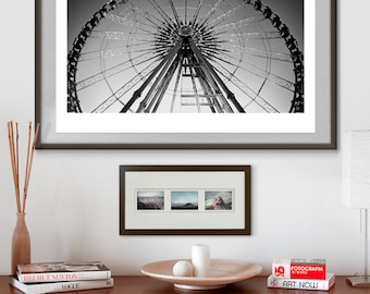 Paris Grand Carousel. Fine art photography giclée print signed by the artist. A2 poster.