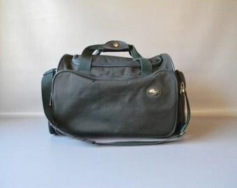 Vintage American Tourister Green Duffle Bag