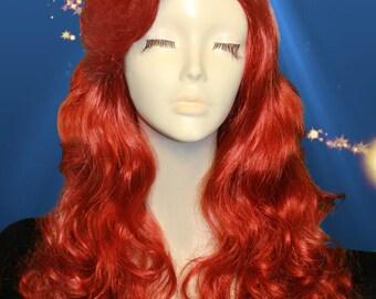 Ariel wig (Big wave style)