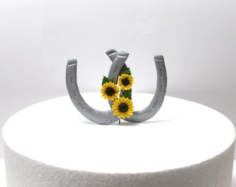horseshoe wedding cake toppers horseshoe cake etsy 15319