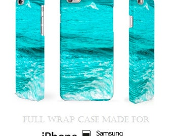 Teal Ocean Samsung Case > Ocean iPhone 6 Case > Nautical iPhone Case > Sea iPod 6 Cover > Water iPhone Case > Teal Fine Art iPhone Case