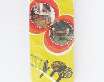 Vintage Ping Pong Set • 70s Toys • 70s Table Tennis Set • Table Tennis Set • Pingpong Set • Vintage Toys • PingPong Game • Table Tennis Game