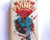 Big Planet by Jack Vance Vintage Novel