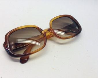 Vintage Christian DIOR 50/60s sunglasses brown/honey