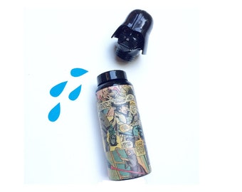 Thermos Star Wars - Customized Comic Book Covered Thermos - Tumbler - Water Bottle - Coffee Thermos