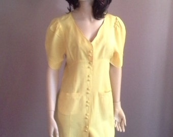 Bekhore Australia Little Yellow Dress