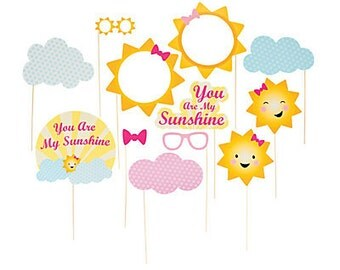 My Ray of Sunshine Photo Props /Photo booth / party props.