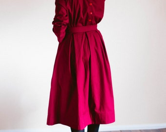 Skirt and Top Set - Plain Skirt and Blouse Set - Made to Measure Modest Skirt Amish Mennonite long skirt Mennonite skirt modest long skirt