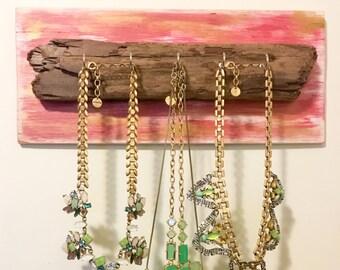 Beach Drift Wood Rustic Key/Jewelry Holder