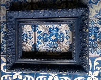 """Vintage Modern Style Shabby Chic Picture Frame 6"""" x 4"""" Made To Order"""