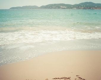 "Ibiza Photography - Beach Photography - Vintage - Island Life - Beach Wall Art - Fine Art Photography - Wall Art - ""Ibiza"""