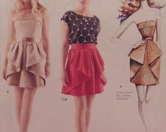 Vintage Pattern: Simplicity/Leanne Marshall - 1690, Sizes 12-14-16-18-20