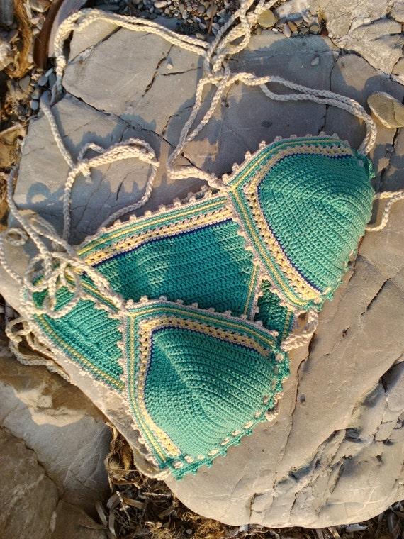 Crochet Bikini Lena Crochet Swimwear Crochet Boho Bikini