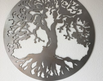 Tree Of Life Wall Metal Art