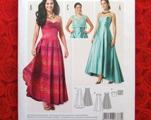 Burda Sewing Pattern 6777, Formal Dress, Top, Sizes 8 10 12 14 16 18, Special Occasion Evening Gown, Wedding Bridesmaid, Party Dance, UNCUT