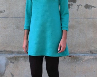 Marion Turquoise dress