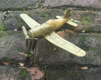 Brass Military Airplane
