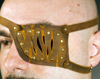 Leather eyepatch - LARP and Cosplay