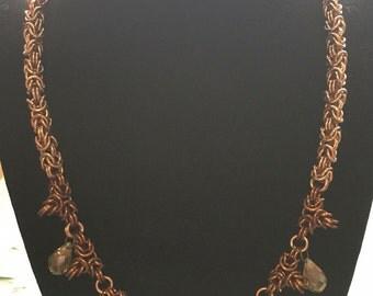 Byzantine Briolette Necklace