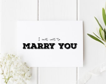 I Can't Wait To Marry You Card, See You At The Altar Card, Groom Wedding Day Card, Bride Wedding Day Card, Card For Groom, Card For Bride