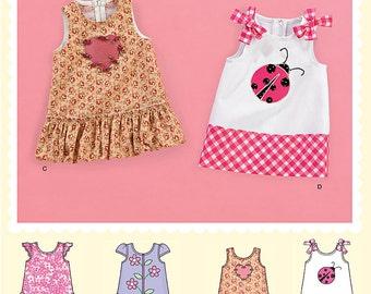 SIMPLICITY 2235 Babies dress. Size XXS-L. Pattern is new and uncut.