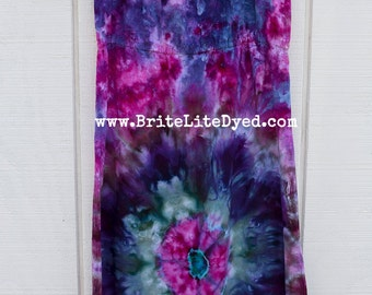 Tie Dye Dress - Womens MEDIUM - Gypsy Dress - Tye Dye Dress - Tie Dye - Tye Dye - Summer Dress - Rayon Dress - Festival Dress - Hippie Dress