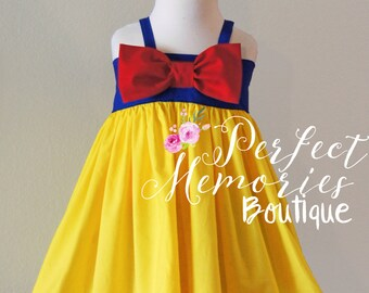 Snow White Dress | Snow White Birthday Party | Girls Snow White Dress | Baby Princess Dress | Disney Princess | Halloween Costume | Dresses