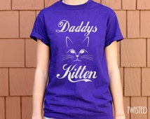 MATURE Daddy's Kitten BDSM shirt clothing submissive gift neko Cosplay pet play