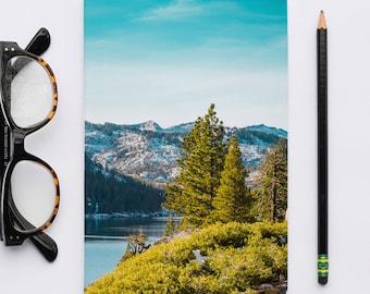 Echo Lake California / Paper Notebooks, Pocket Notebook, Sketchbooks, Journal Notebook, Writers Notebook.