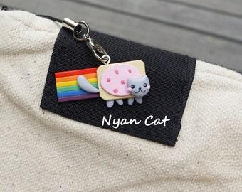 Nyan Cat Charm Handmade