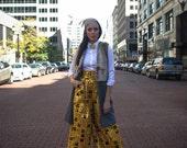 On Sale Women's Pants | High Waist Embellished Ankara Wax Print PALAZZO PANTS with Pockets