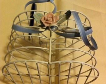 Decorative Hanging Heartshaped Basket