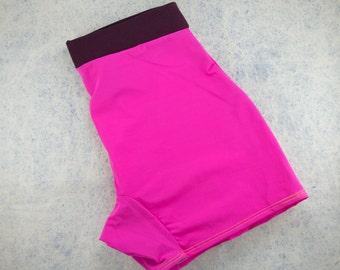M - GenderLess Bike Boxer - Hot pinks