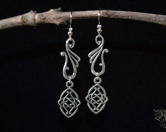 "Earrings ""Elven Kingdom"""