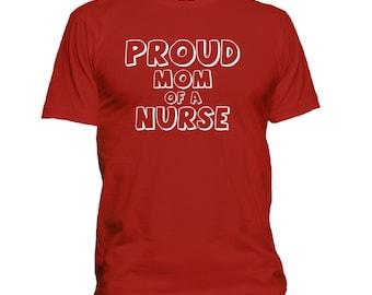 Mom of Nurse t shirt, nurse mom T-shirt, nursing t shirt, medical t shirt, medicine t shirt, RN t shirt, CNA t shirt, gift for mom  139-64