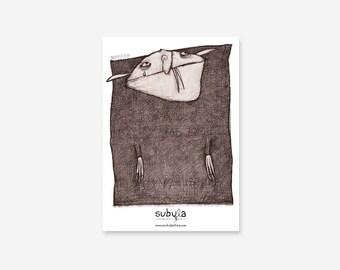 Hotlah (Vampire) Art Print Poster