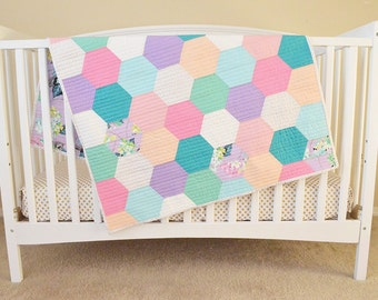 """Baby Girl Quilt 