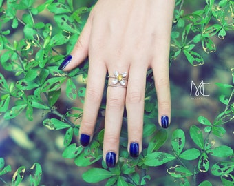 Baby Blooming Ring - Stack Ring Size 5-9